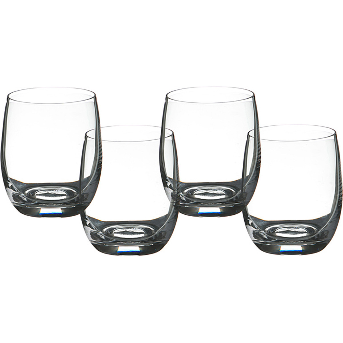 {} Bohemia Crystal Набор стаканов для виски Carlyle  (10 см - 4 шт) crystal bohemia