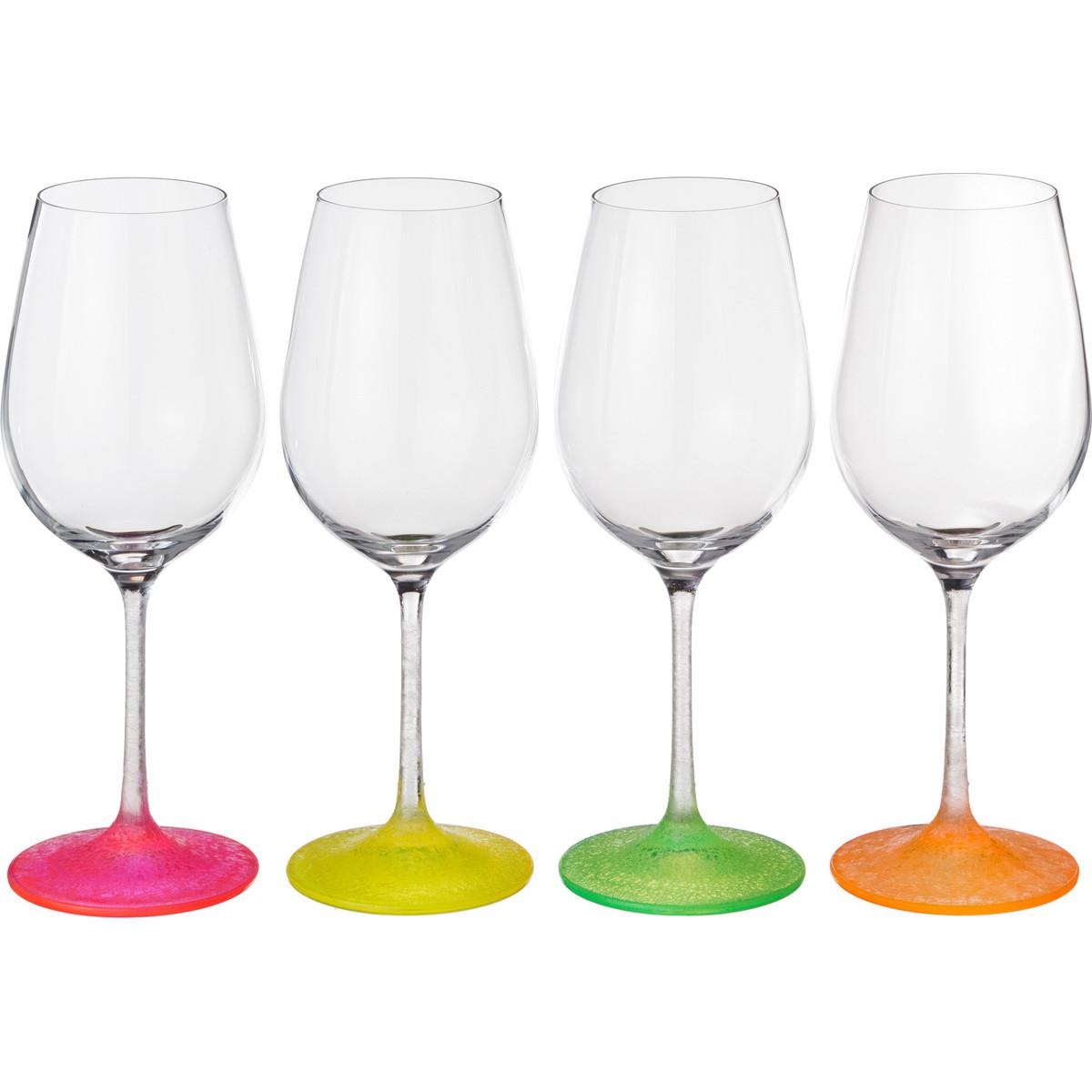 {} Bohemia Crystal Набор бокалов для вина Evonne (23 см - 4 шт) bohemia crystal набор бокалов для шампанского felina 25 см 2 шт