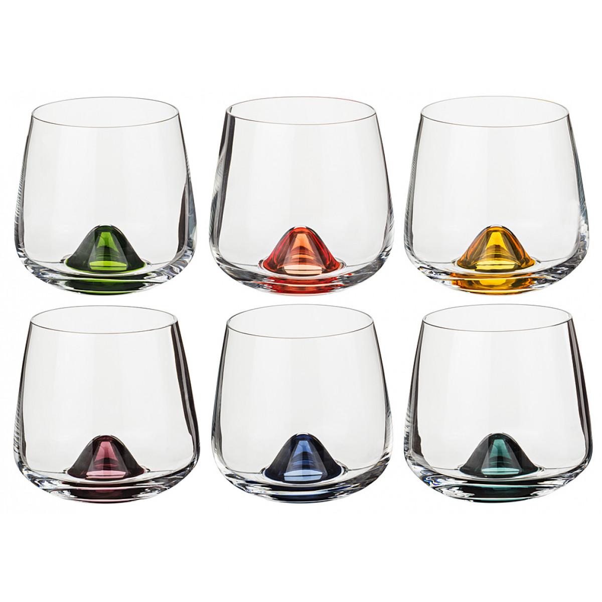 {} Bohemia Crystal Набор стаканов для виски Neva  (310 мл - 6 шт) crystal bohemia