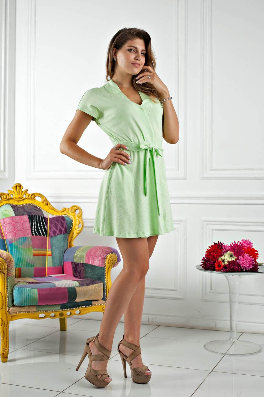 Домашние халаты Five Wien Домашний халат Sweet Цвет: Салатовый (M) домашние халаты mia mia домашний халат yesenia xl