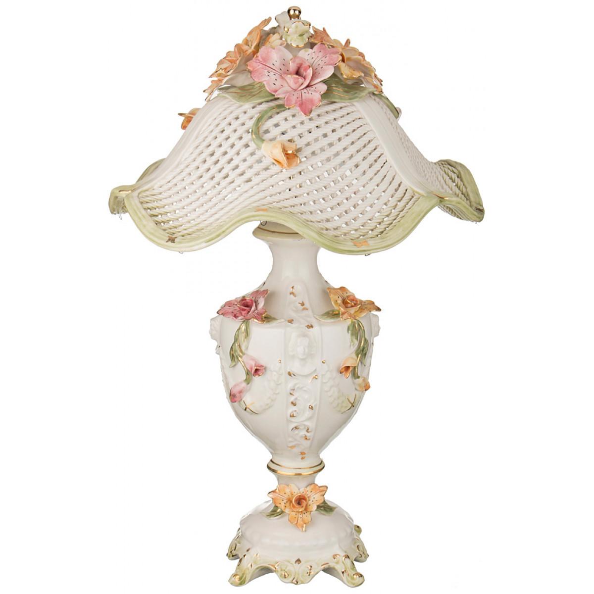 {} Lanzarin Ceramiche Светильник настольный Allysdare  (39х39х58 см)