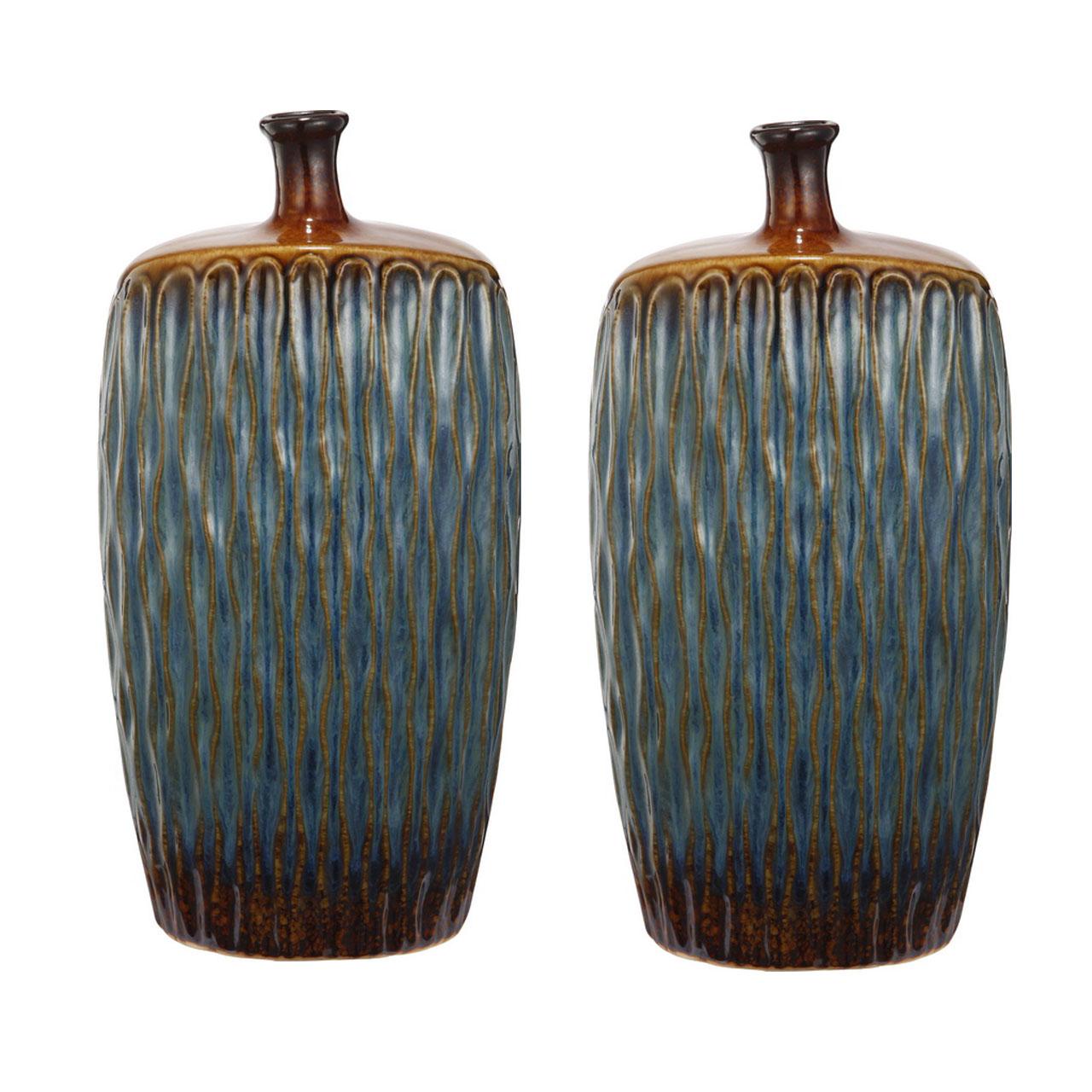 {} ARTEVALUCE Ваза Xylia (11х20х41 см - 2 шт) ваза mughal l 20 х 20 х 30 см