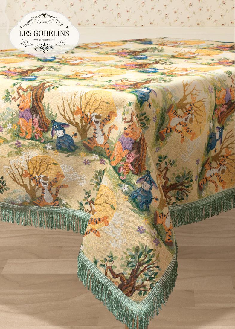 Скатерти и салфетки Les Gobelins Скатерть Winnie L'Ourson (140х140 см) скатерти duni скатерть 138х220 d s