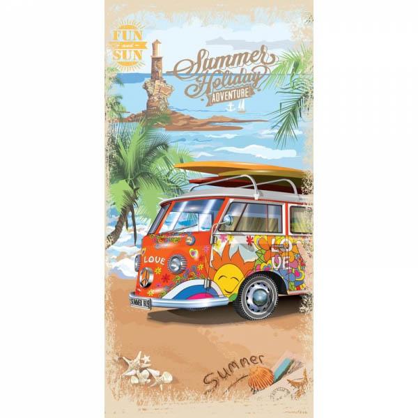 полотенце детское mona liza mona liza полотенце 70х140 sl summer surf Полотенца Mona Liza Полотенце Bus (70х140 см)