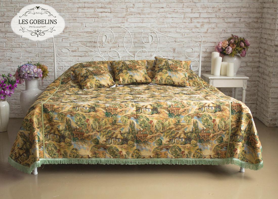 Покрывало Les Gobelins Покрывало на кровать Provence (230х230 см) желтое покрывало на кровать