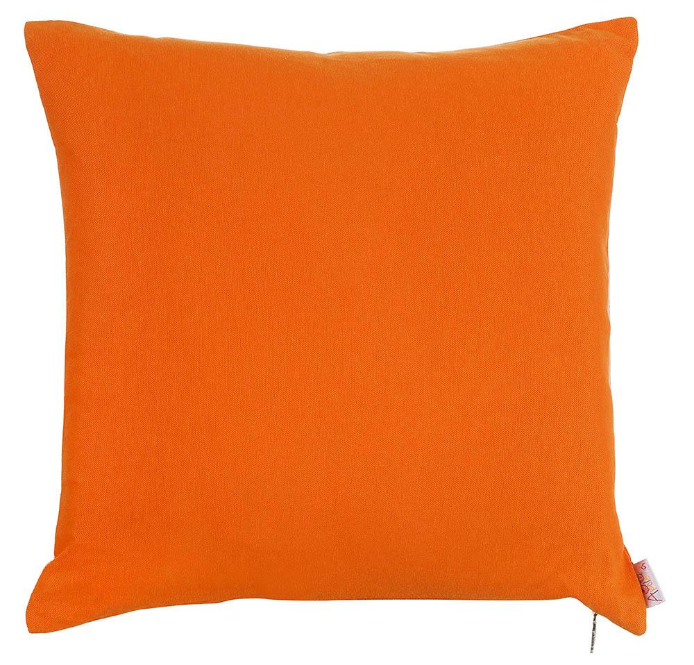 Декоративные подушки Apolena Декоративная наволочка Оранж (43х43) панель декоративная awenta pet100 д вентилятора kw сатин