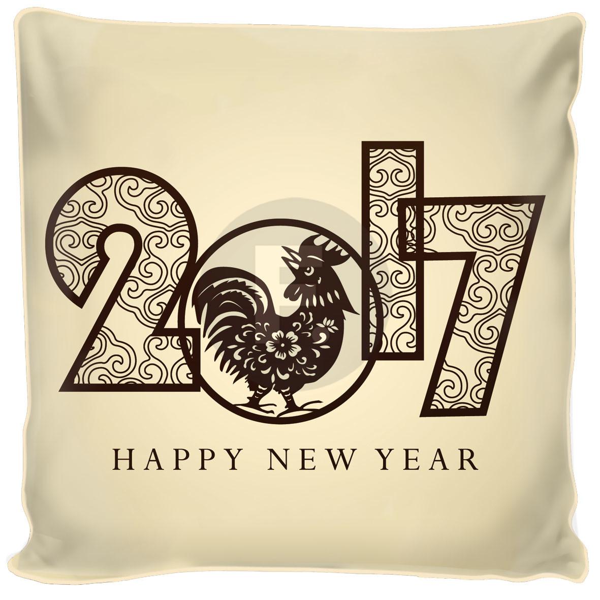 Декоративные подушки Fototende Декоративная подушка С Новым Годом (45х45) декоративные подушки fototende декоративная подушка апельсин с лимоном 45х45