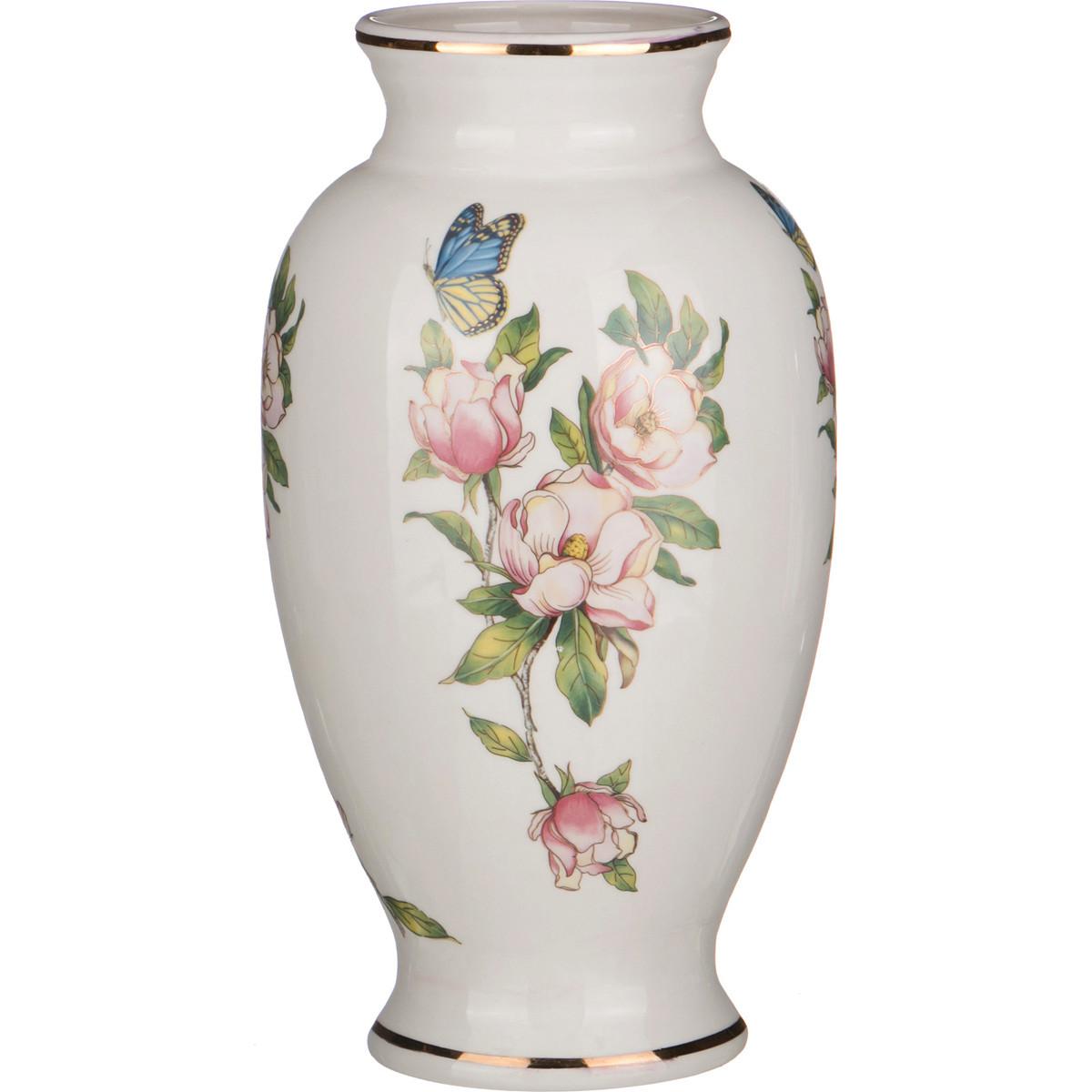{} Arti-M Ваза Ирис Бабочки (33 см) ваза настольная арти м 20х18 см ирис 327 048