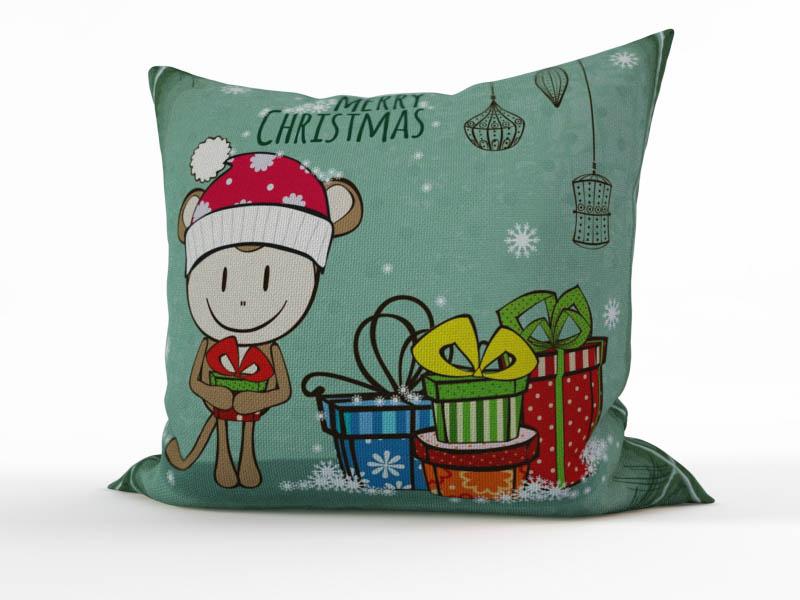 где купить Декоративные подушки StickButik Декоративная подушка Новогодний Талисман (45х45) по лучшей цене