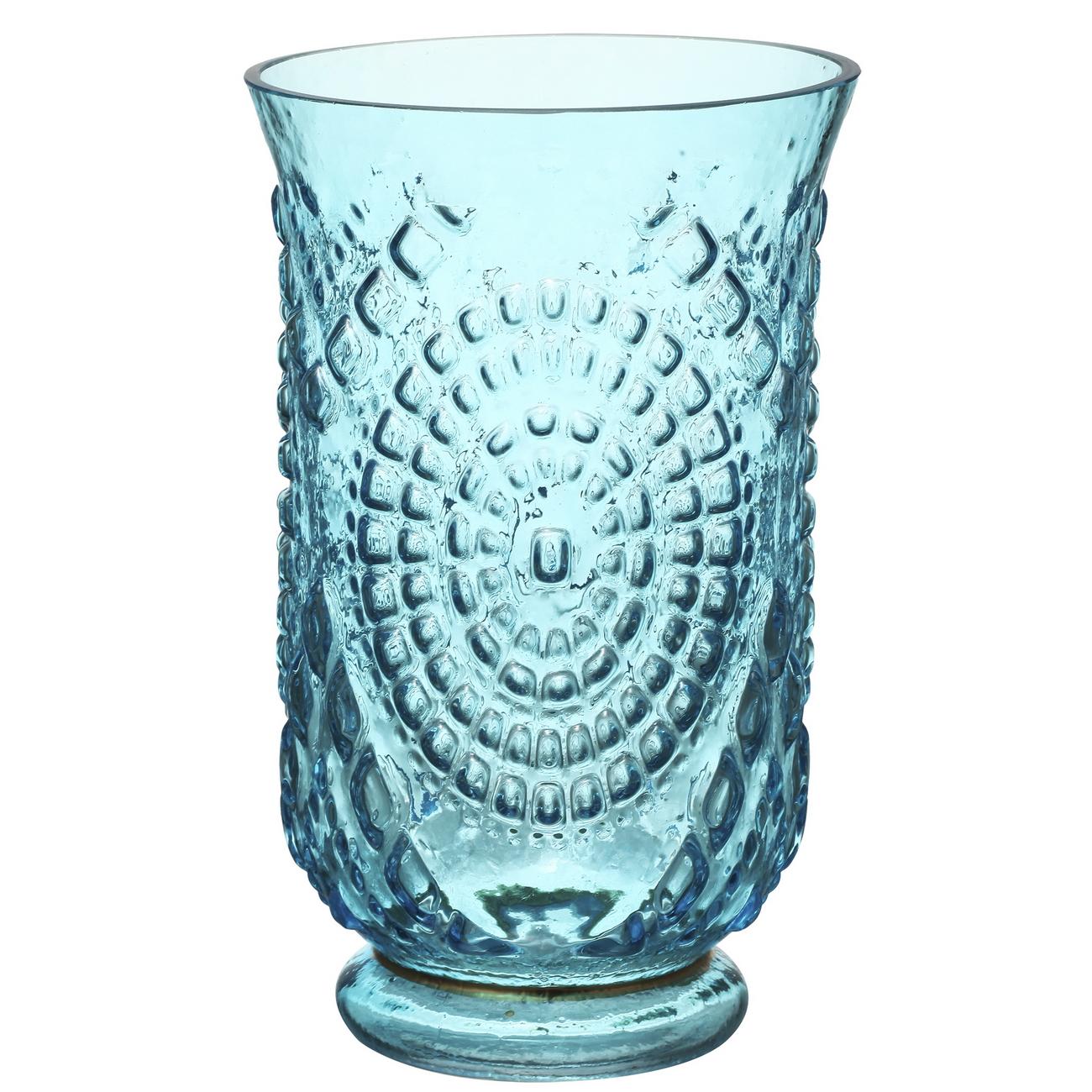 {} ARTEVALUCE Ваза Arina Цвет: Голубой (13х20 см) artevaluce ваза ria цвет оранжевый 13х13х41 см
