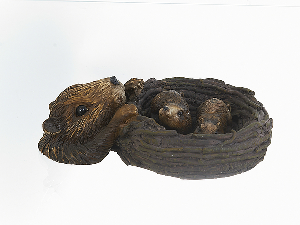 {} ENS GROUP Фигурка Гнездо Выдры (8х22 см) подставка под ложку ens group чайная роза