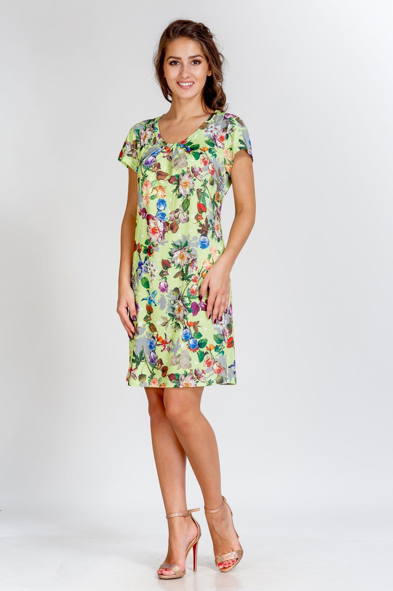 Туники, сарафаны Pastilla Платье Фиалка Цвет: Зеленый (M)