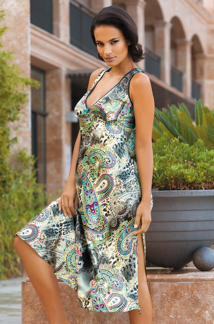 Ночные сорочки Mia-Mia Ночная сорочка Fiorenza (xL) ночные сорочки hello moda ночная сорочка
