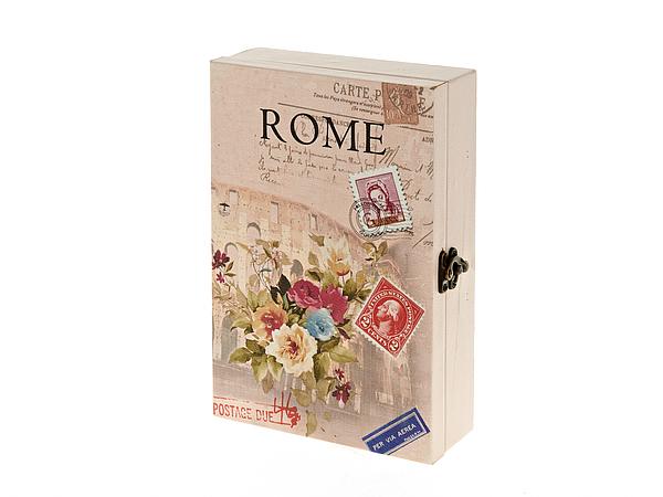 {} ArtHouse Настенная ключница Rome (7х17х26 см) arthouse статуэтка балет 7х7х23 см