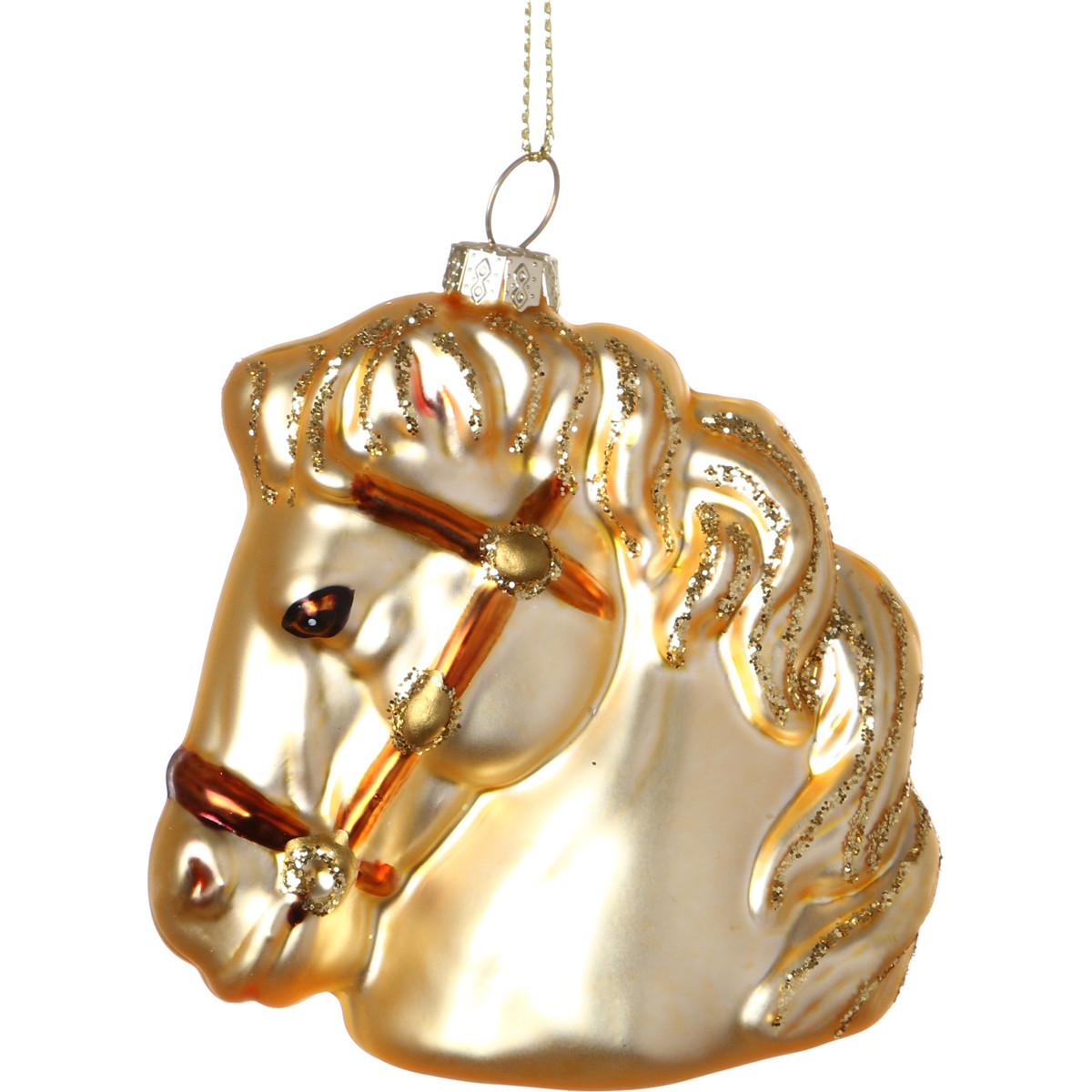 {} Lefard Елочная игрушка Лошадка (10 см) игрушка елочная лошадка 9см акрил