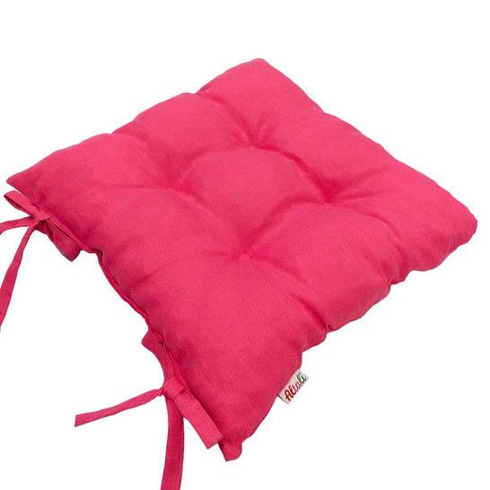 Подушки на стул Apolena Подушка на стул Фуксия (40х40) подушка на стул арти м райский сад
