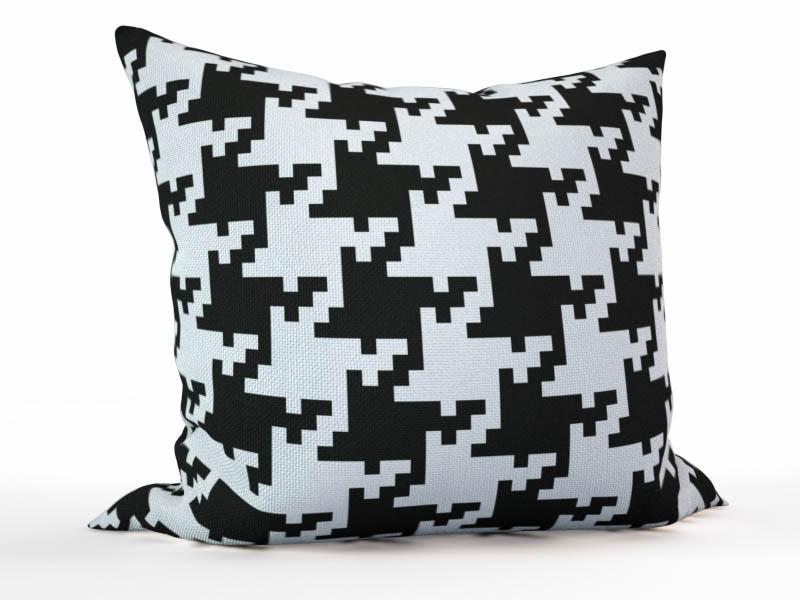 Декоративные подушки StickButik Декоративная подушка Гусиная Лапка (45х45)