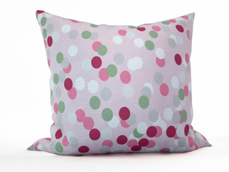 Декоративные подушки StickButik Декоративная подушка Цветные Круги (45х45)