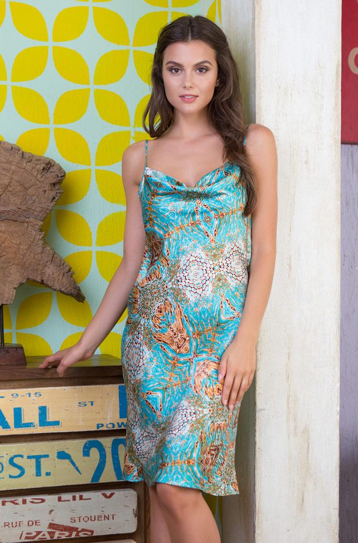 Ночные сорочки Mia-Mia Ночная сорочка Adriana (xL) домашние халаты mia mia домашний халат yesenia xl