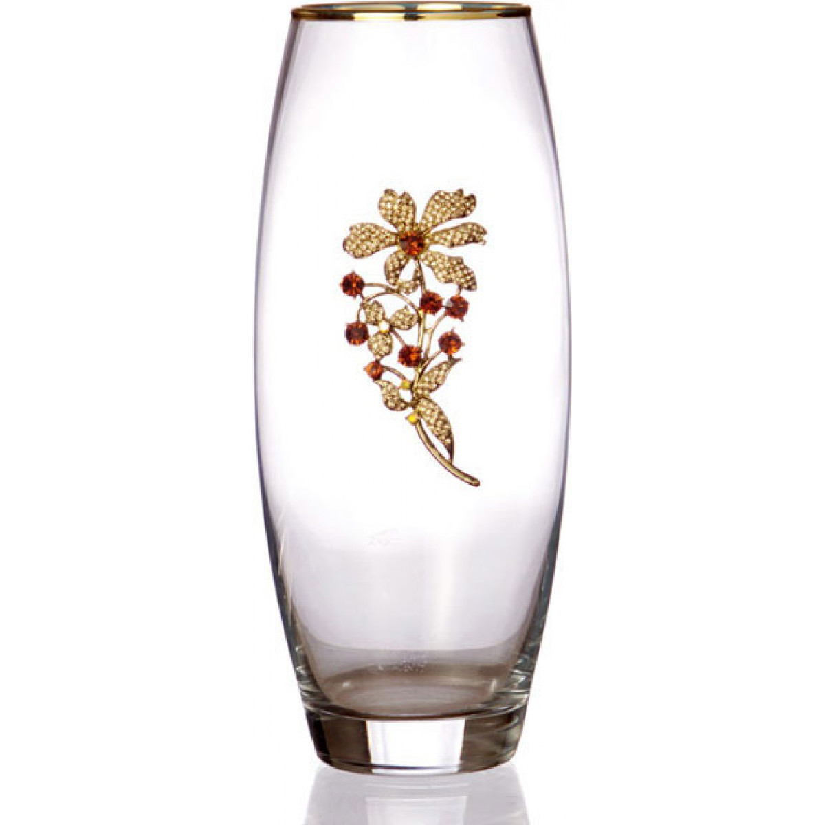 {} Arti-M Ваза Elanor  (26 см) ваза кружева цветов 26 см
