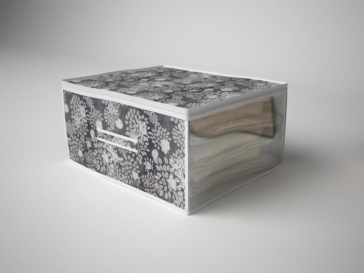 {} CoFreT Кофр для хранения Метелица (30х50х60 см) кофр стеллажный для хранения вещей valiant vintage 2 секции 50 x 30 x 20 см