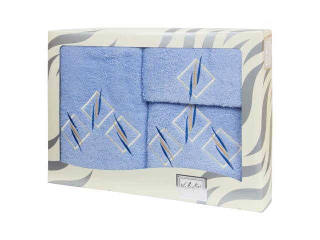 Полотенца Valentini Полотенце Valentini Цвет: Голубой (Набор) полотенца valentini полотенце valentini цвет голубой набор