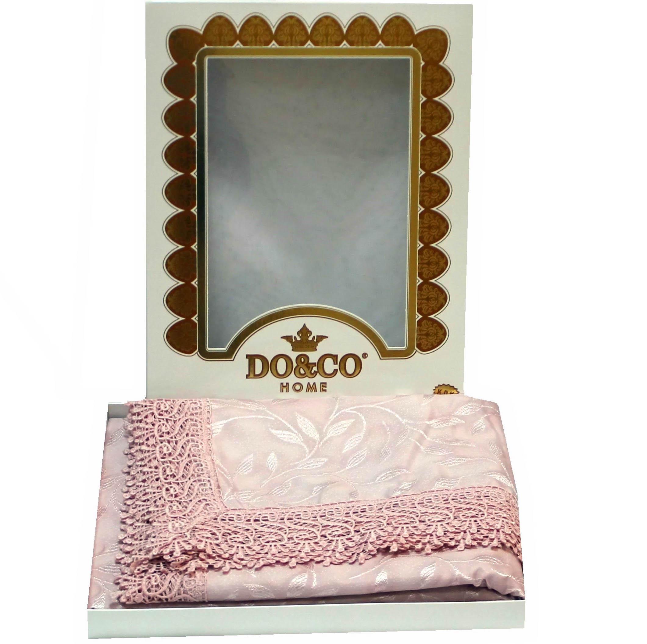 Скатерти и салфетки DO'n'CO Скатерть Dolph Цвет: Горчичный (160х220 см) every набор чехлов для дивана every цвет горчичный