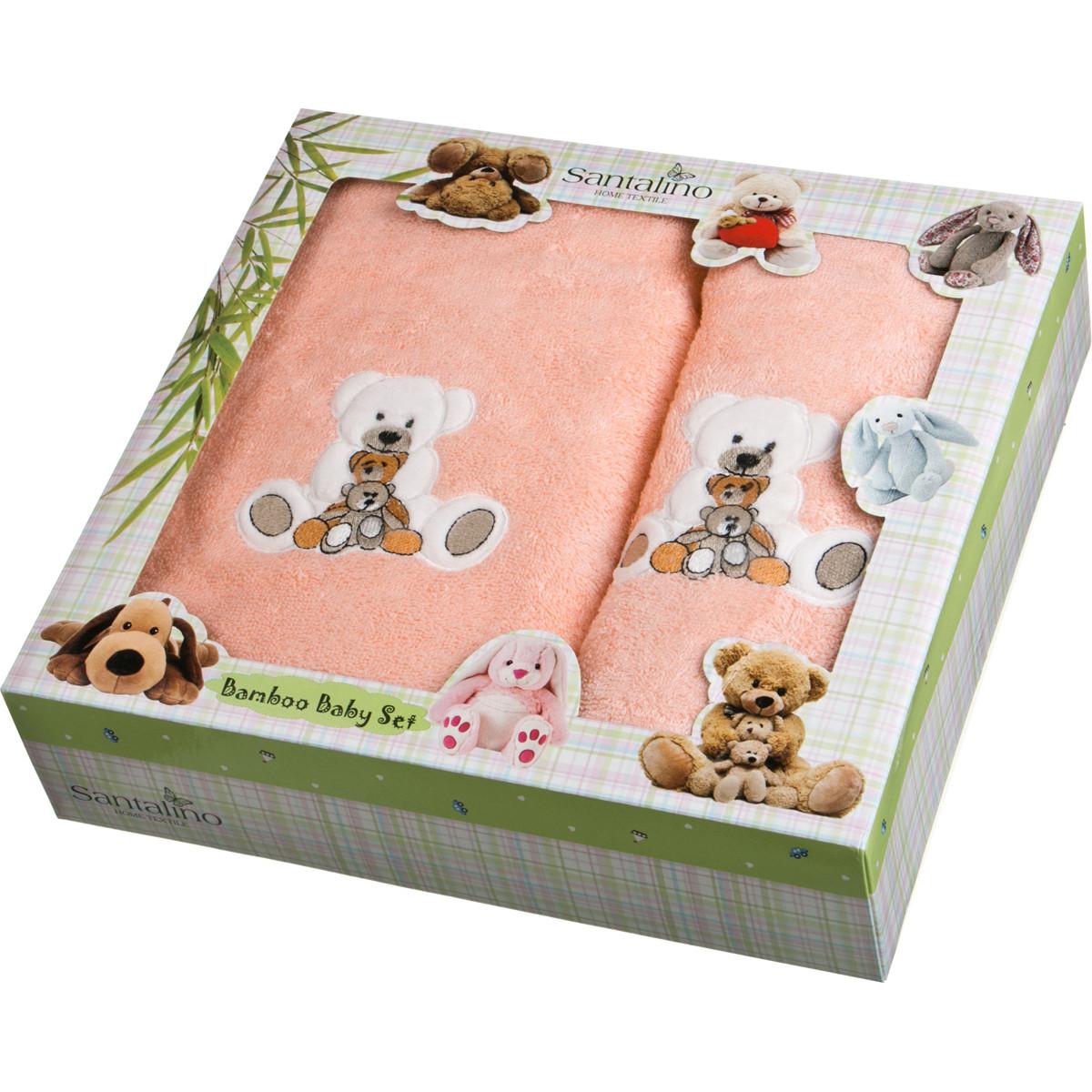 Полотенца Santalino Детское полотенце Ariel  (50х90 см,70х140 см) bravo полотенце детское пони 33 x 70 см 1089