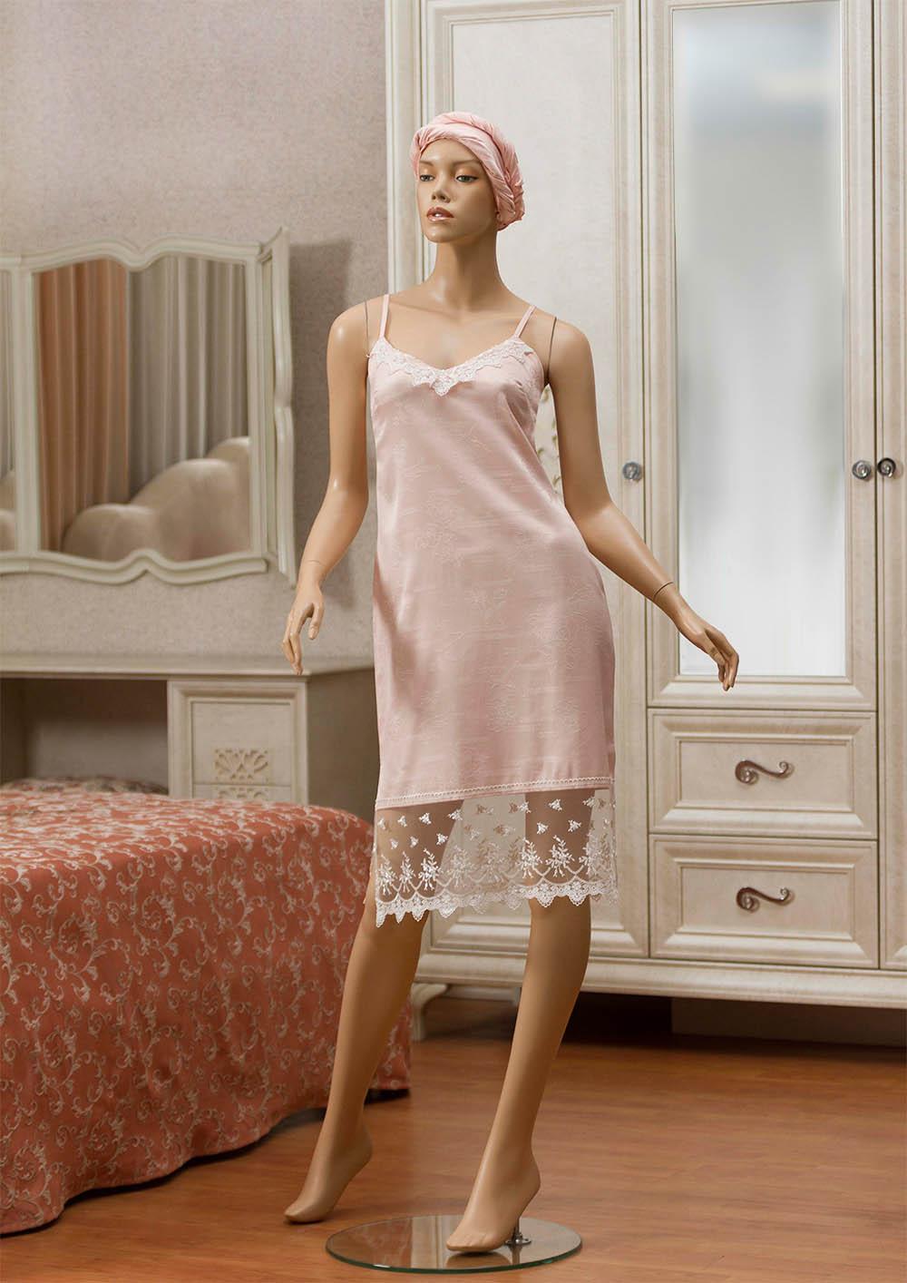 Ночные сорочки Primavelle Ночная сорочка Lavole Цвет: Розовый (S-M) ночные сорочки мамин дом ночная сорочка harmony