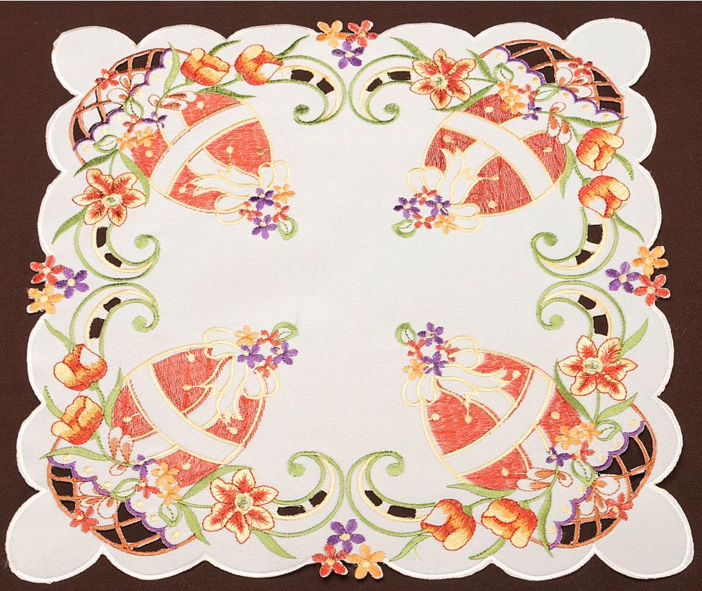 Скатерти и салфетки Santalino Салфетка Brittney  (35х35 см) скатерти и салфетки santalino салфетки muriel 35х35 см