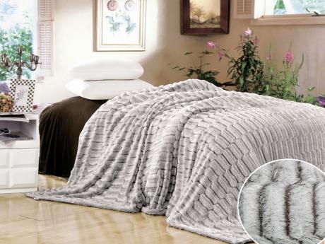 Плед Buenas Noches Плед Пестрый Ворс Цвет: Серый (220х240 см) плед вязаный milk quadro 220х240 см 89 v301 2
