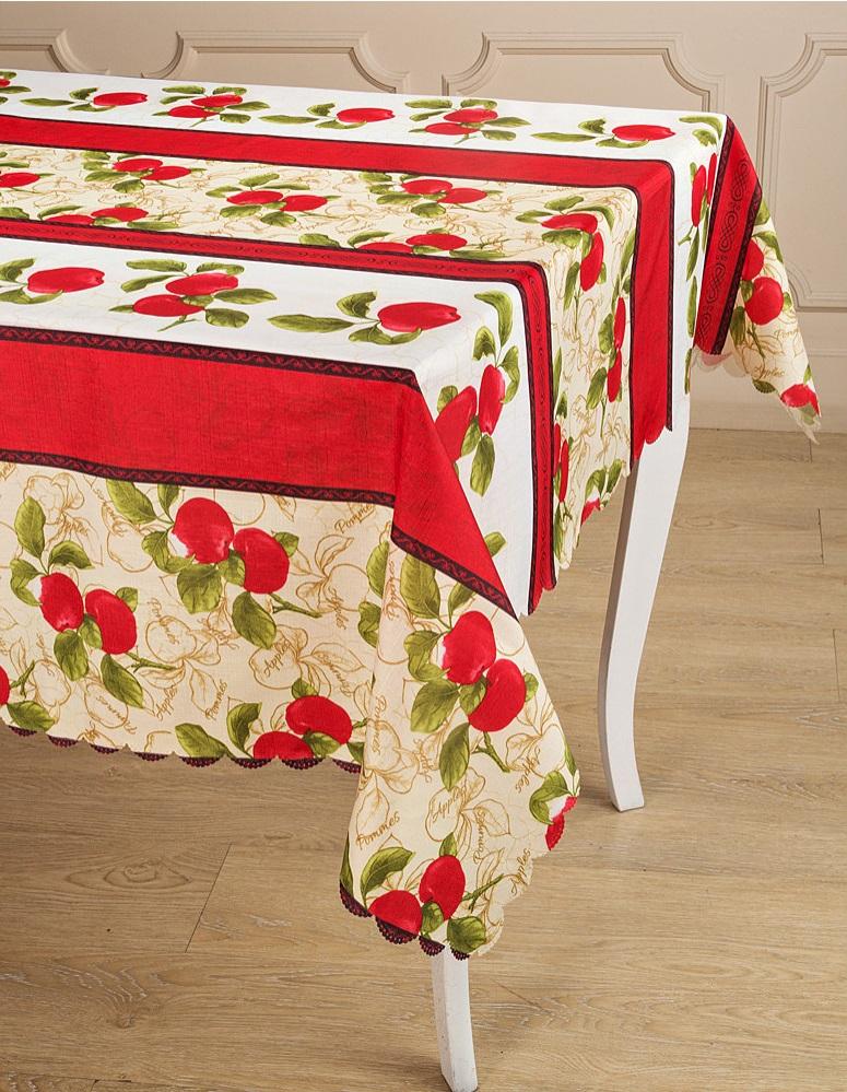 Скатерти и салфетки Santalino Скатерть Marley  (140х180 см) скатерти и салфетки santalino скатерть ягоды 140х180 см