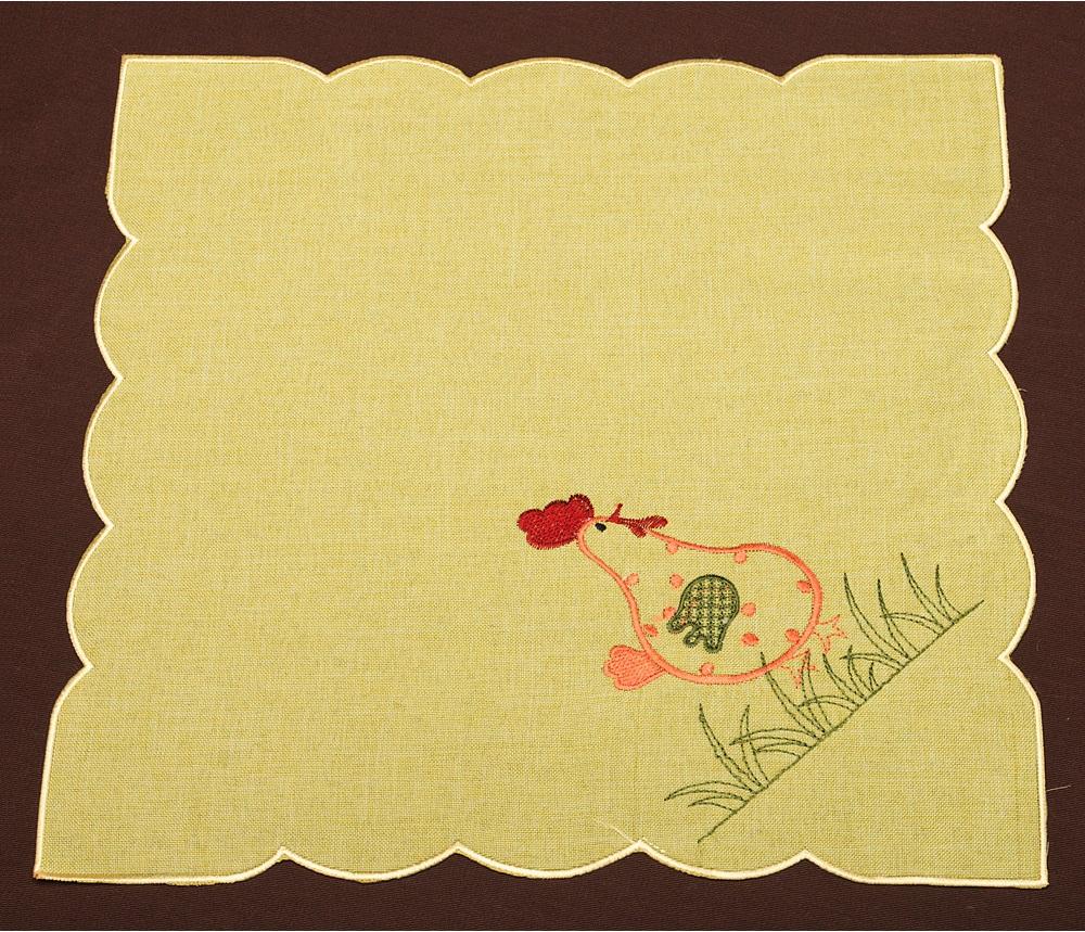 Скатерти и салфетки Santalino Салфетка Calabria  (35х35 см) скатерти и салфетки santalino салфетки muriel 35х35 см
