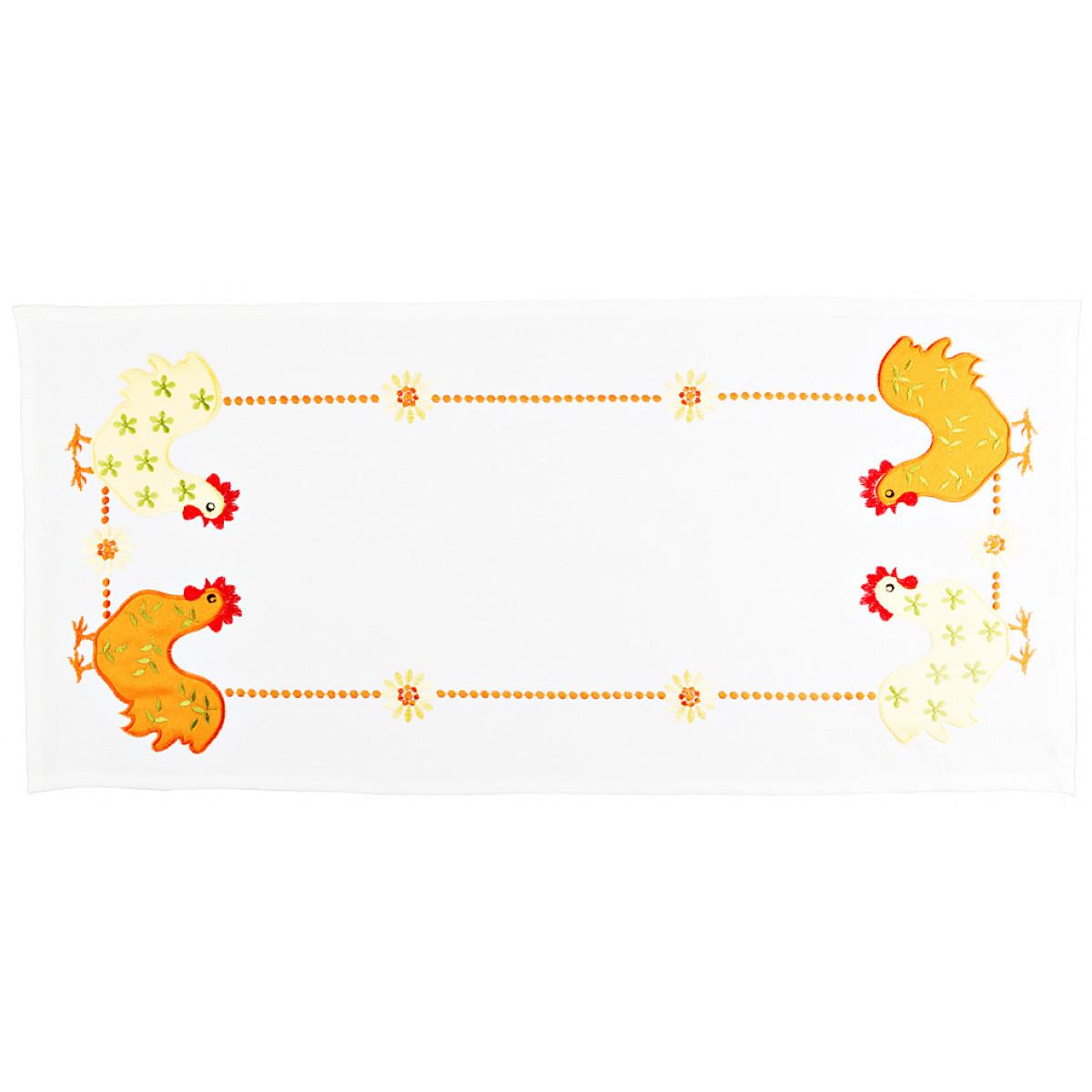 Скатерти и салфетки Santalino Салфетки Infisso  (40х90 см) скатерти и салфетки santalino скатерть lysander 140х180 см