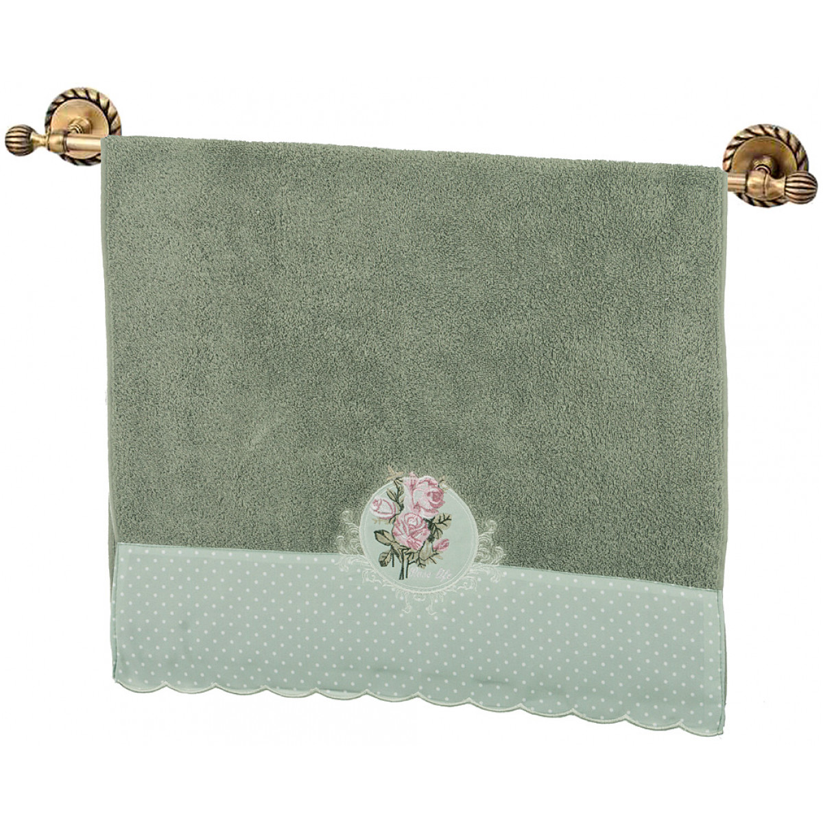 Полотенца Santalino Полотенце Clinton  (50х90 см) полотенца банные la pastel полотенце кружево 50х90 см