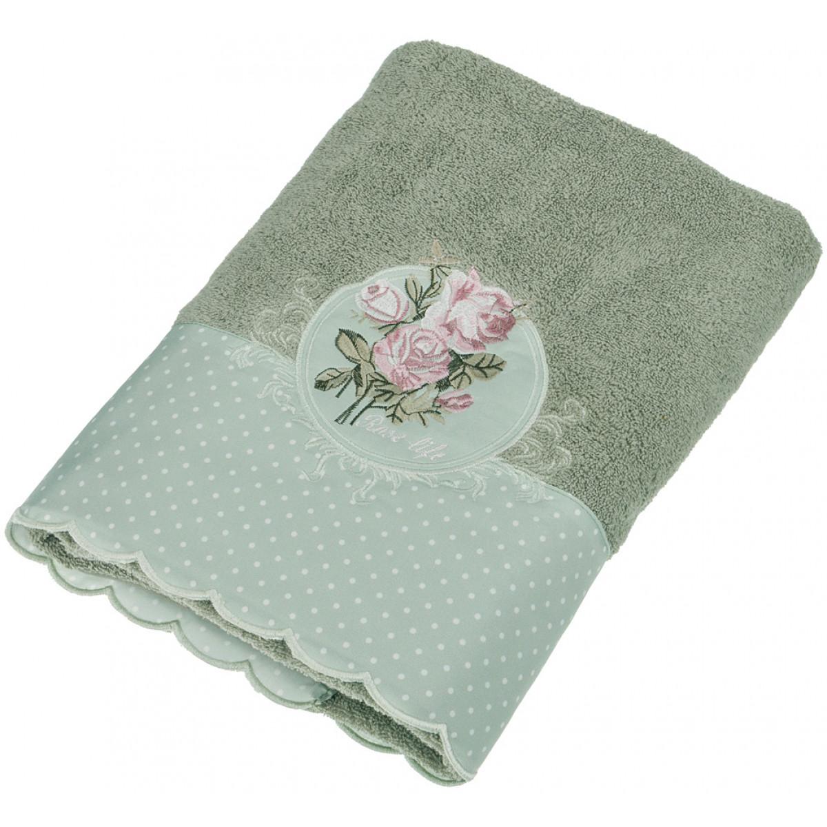 Полотенца Santalino Полотенце Maybelle  (70х140 см) полотенца santalino полотенце shulamite 40х70 см