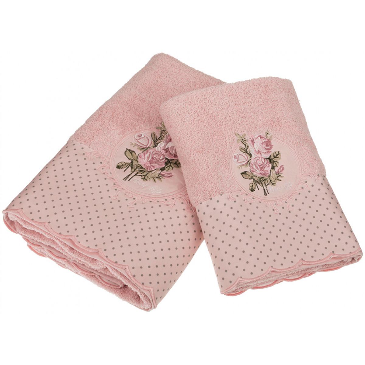 Полотенца Santalino Полотенце Netta  (50х90 см,70х140 см) полотенца santalino полотенце shulamite 40х70 см