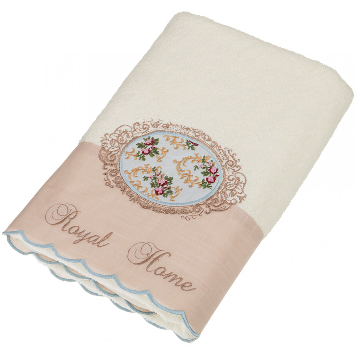 Полотенца Santalino Полотенце Abigall  (50х90 см) полотенца santalino полотенце shulamite 40х70 см