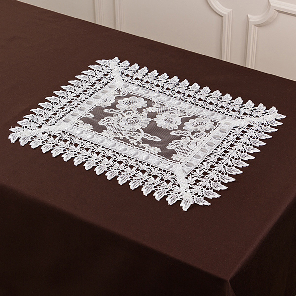 Скатерти и салфетки Santalino Салфетки Gemariah  (30х45 см) скатерти и салфетки santalino скатерть lysander 140х180 см