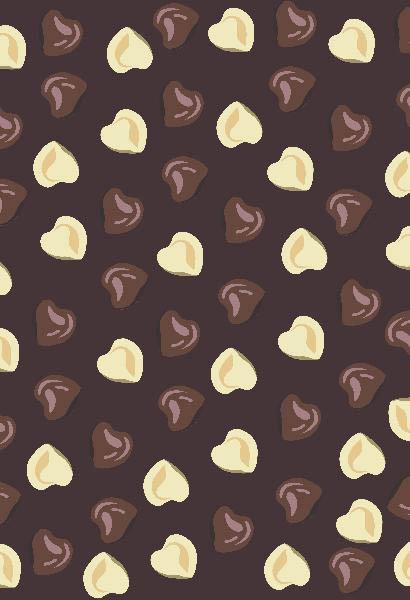 Скатерти и салфетки StickButik Скатерть Шоколадные Сердечки (120х120 см) скатерти и салфетки santalino скатерть lysander 140х180 см