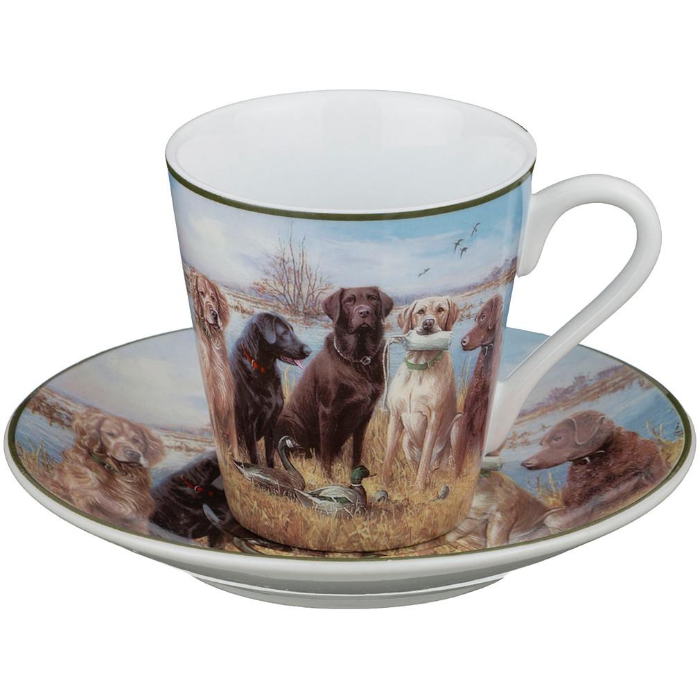 {} Lefard Чайная пара Охота (100 мл) наборы для чаепития lefard чайная пара венская классика 230мл