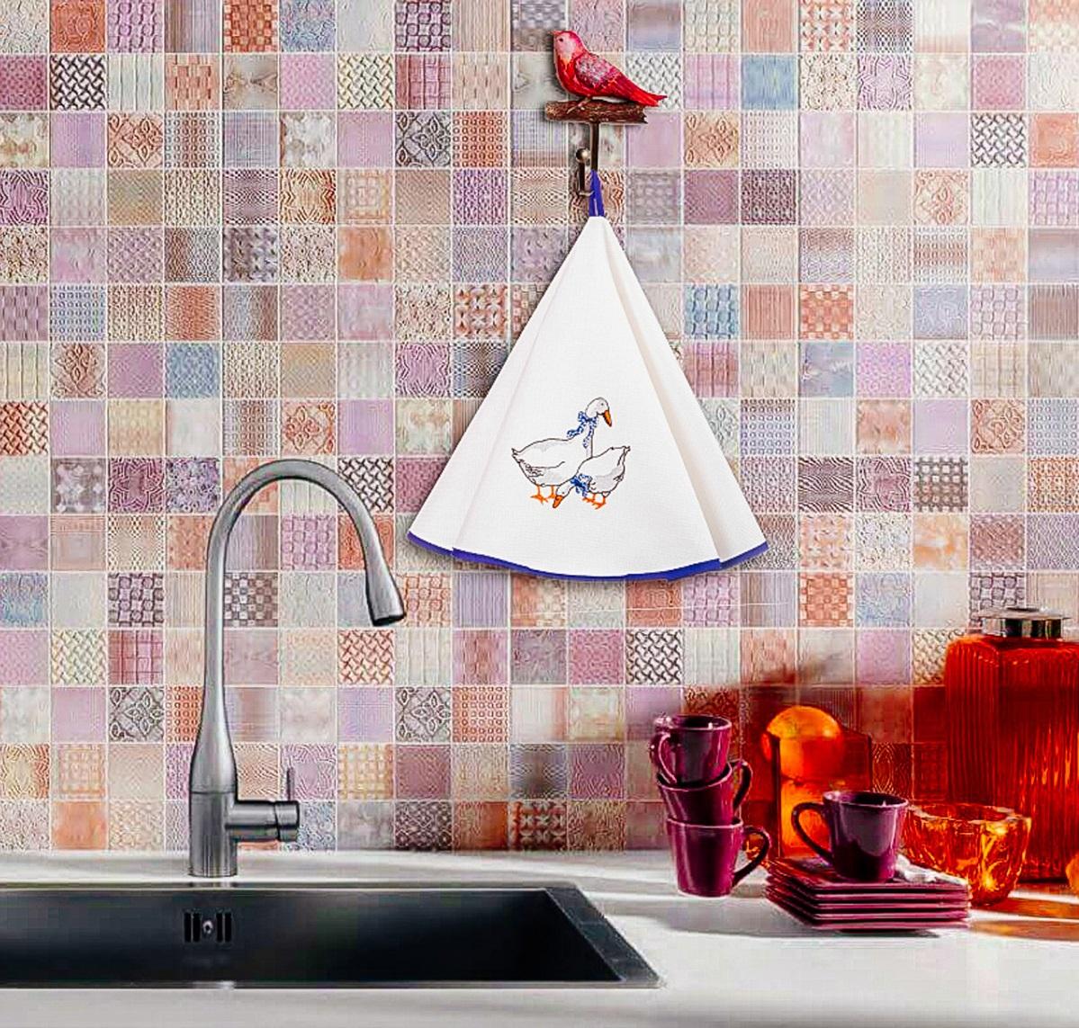{} Santalino Кухонное полотенце Jane (круглая 75 см) santalino кухонное полотенце amey круглая 70 см
