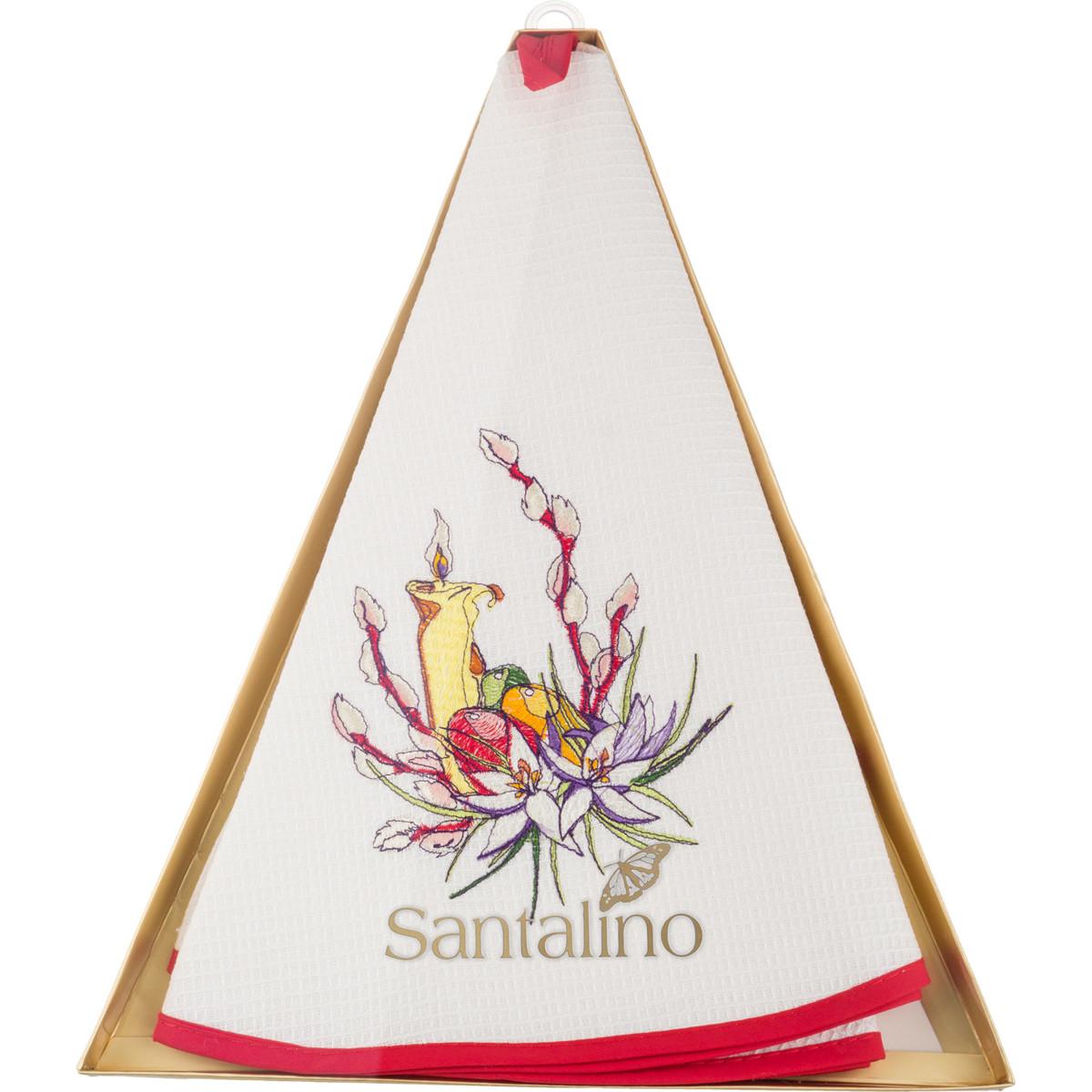 {} Santalino Кухонное полотенце Gable (круглая 70 см) santalino кухонное полотенце amey круглая 70 см