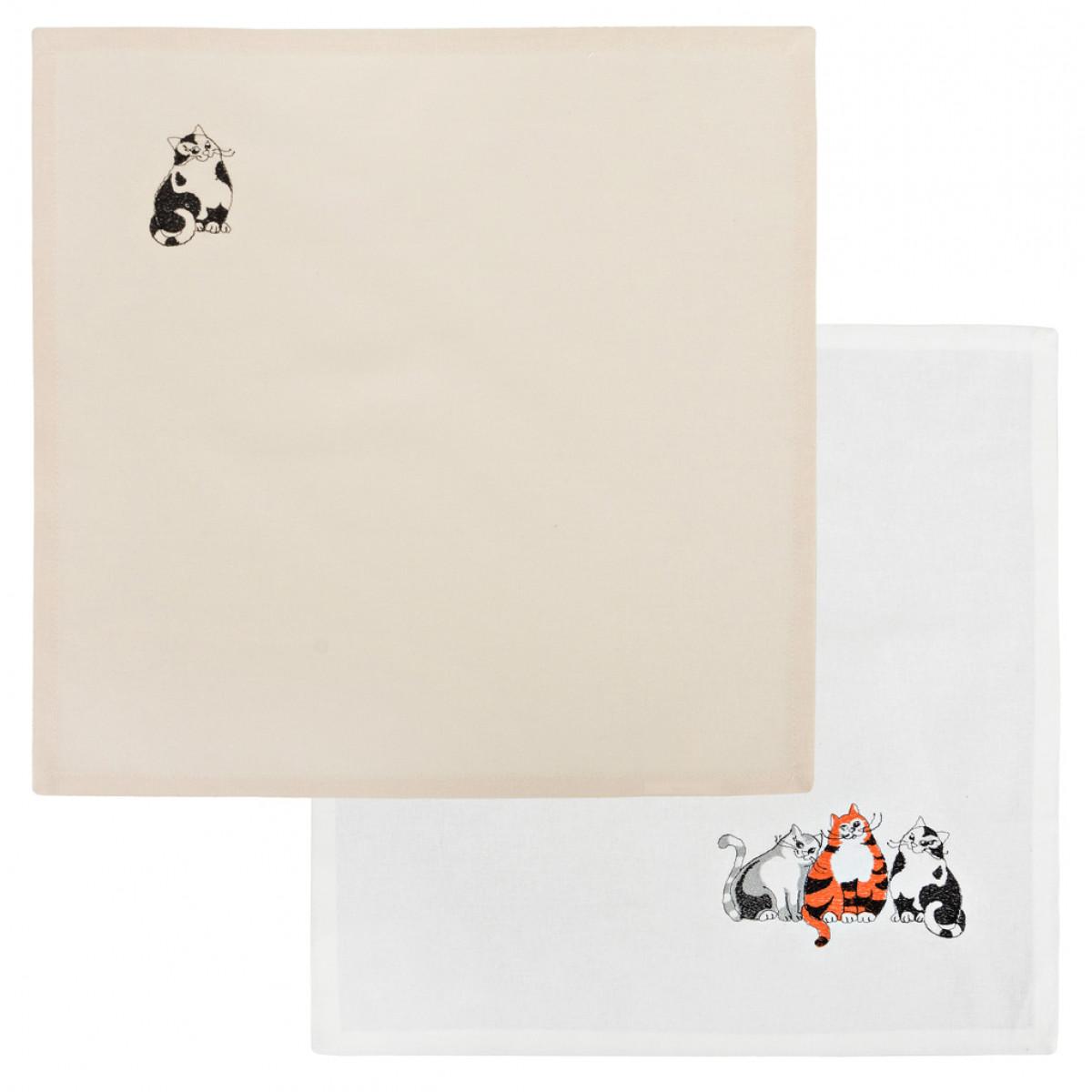 Скатерти и салфетки Santalino Салфетки Alpin  (40х40 см - 2 шт) насос универсальный x alpin sks 10035 пластик серебристый 0 10035