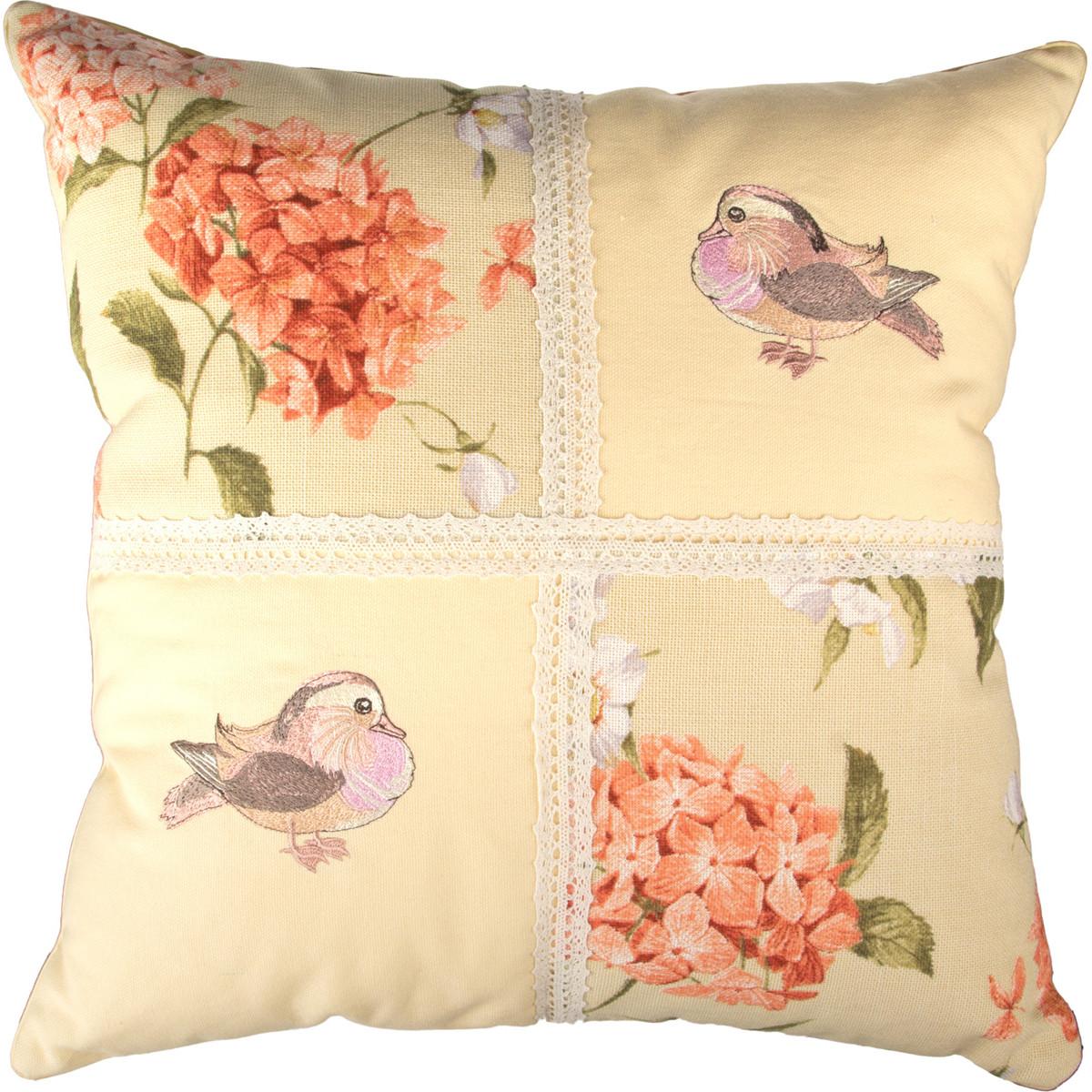 Декоративные подушки Santalino Декоративная подушка Gresham (46х46) подушка декоративная santalino райский сад 850 818 6