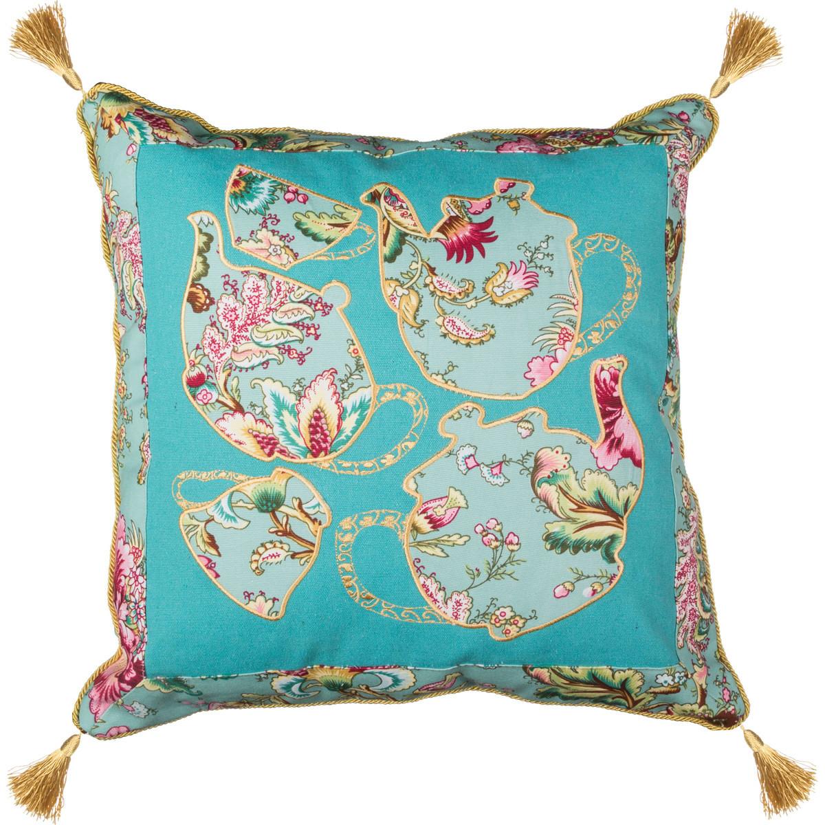 Декоративные подушки Santalino Декоративная подушка Розовый Сад (46х46) подушки на стул santalino подушка на стул розовый сад 38х38