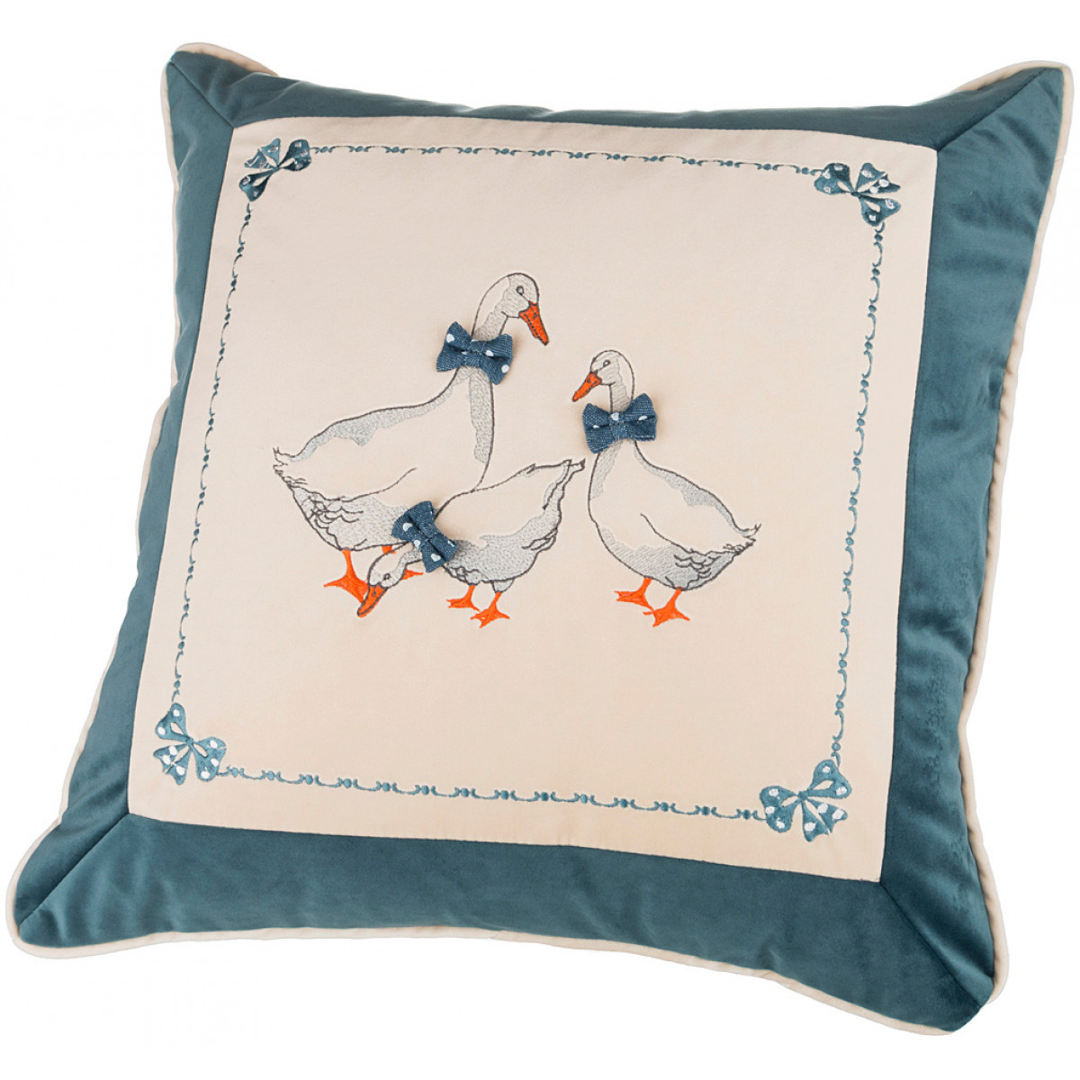 Декоративные подушки Santalino Декоративная подушка Гуси (45х45) декоративные подушки santalino декоративная подушка гуси 45х45