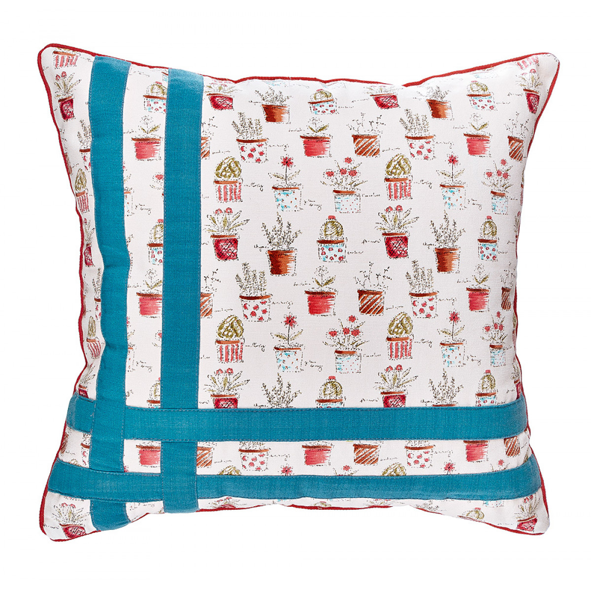 Декоративные подушки Santalino Декоративная подушка Algernon (46х46) подушка декоративная santalino райский сад 850 818 6
