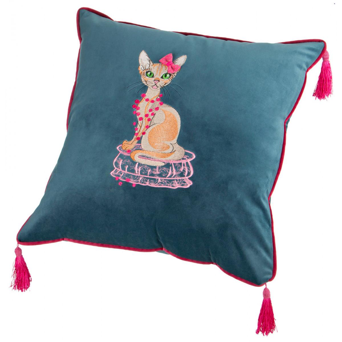 Декоративные подушки Santalino Декоративная подушка Judie  (45х45) декоративные подушки оранжевый кот подушка игрушка медведь чистые погоны чистая совесть