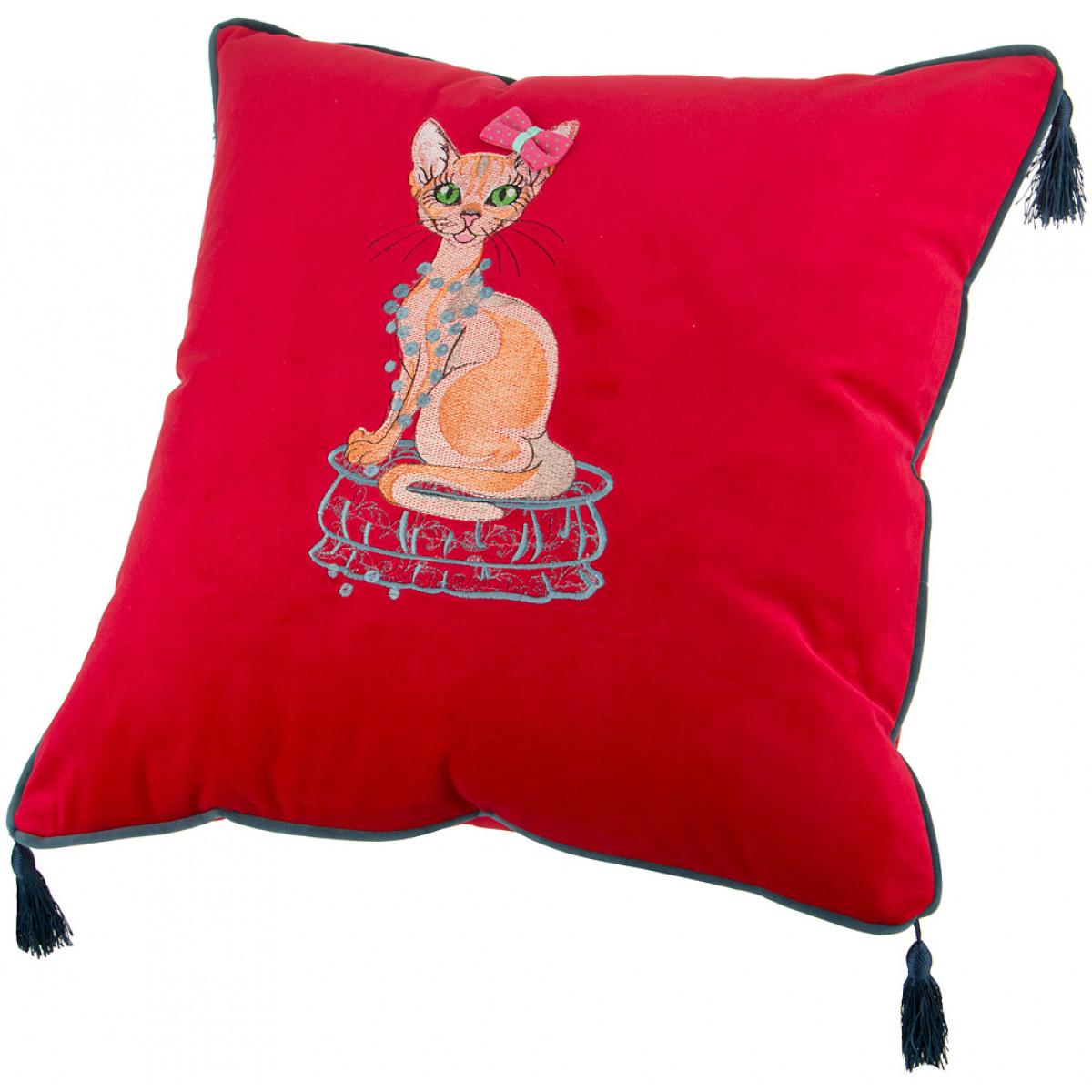 Декоративные подушки Santalino Декоративная подушка Alesha  (45х45) подушка арти м декоративная 45х45 см цветы 703 694 37